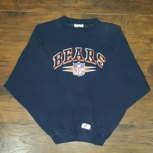 Vintage  90s NFL BEARS Logo Athletic Sweater